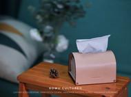 家居精致好物——皮革纸巾盒