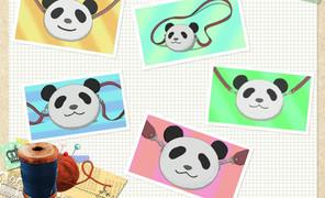 你们看!潘达君的熊猫挎包萌不萌