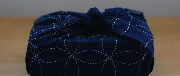 蓝的布,白的线,是那蓝白相间的刺子绣 | @yoko_march