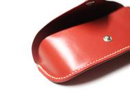 桃红色手工眼镜盒