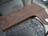 【木子加的手缝包】又又一次老绣与皮