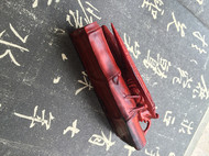 【LR ART】独立设计 印度小叶紫檀 纯手工雕刻知了-知足常乐