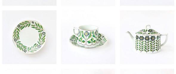 温暖质朴的手绘陶瓷 | 日本陶艺家鹿兒島睦新作欣赏