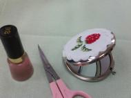 草莓化妆镜