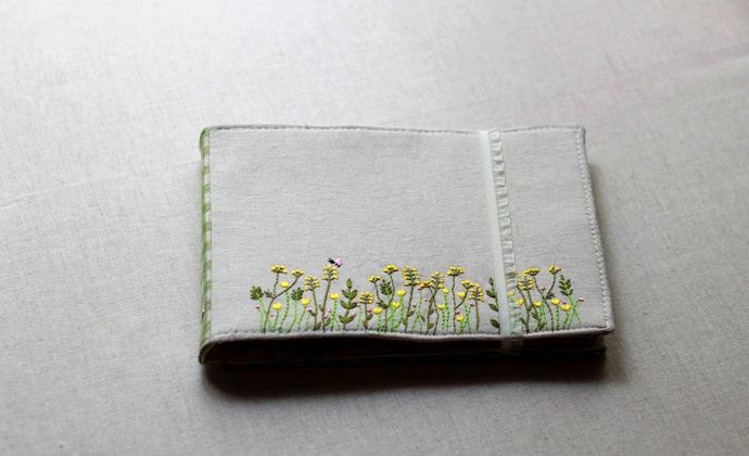 又是小清新——野花刺绣相册
