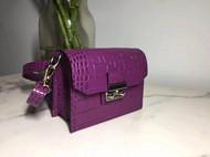 紫色气质款春夏女包