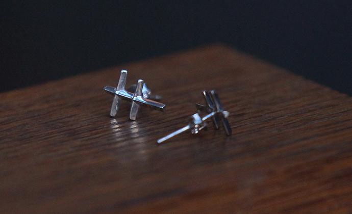 偶屿925纯银蜻蜓耳钉