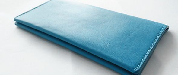 湛蓝心情——纯手工钱包、卡包两件套