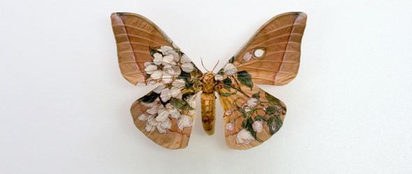 不是标本,却比标本更逼真的手绘昆虫雕塑 | 日本艺术家樋口明宏作品赏析
