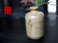 传统龙窑柴烧小花瓶