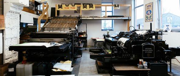 探访德国设计大师 Erik Spiekermann 的家和p98a活版印刷工作室