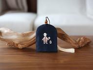 花暖 原创设计 手工刺绣 十二生肖钥匙包民族风配饰中国风礼物 羊