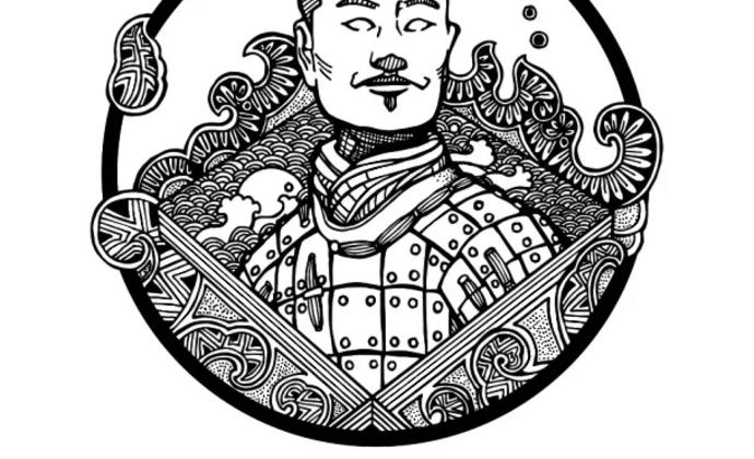 【秦调】汉风秦俑 秦军服(T恤)