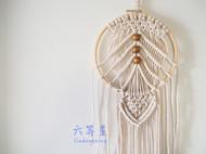 【定制】六等星原创家居饰品壁挂 手工编织波西米亚墙面装饰品