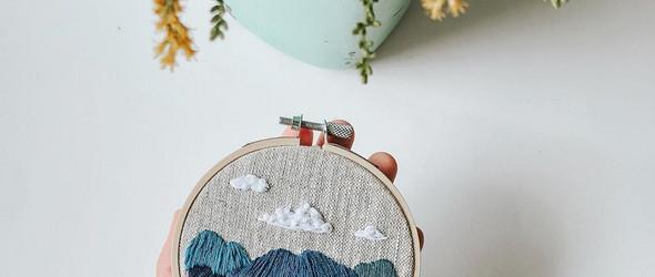 无论心情好心情坏,刺绣总是最好的治愈工具 | Harvest Goods