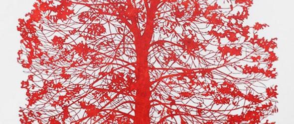 神秘而野性 - 澳大利亚艺术家Nicola Moss的剪纸艺术