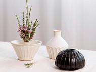 黑白色调的益子烧花瓶(8款)