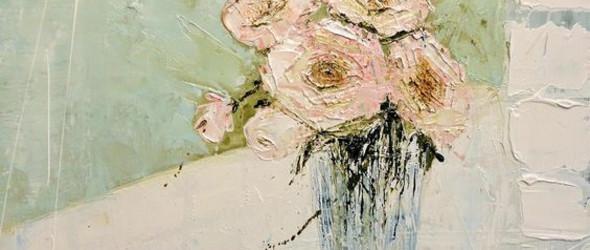 温柔而斑驳的手绘花朵 | Jane Skingley