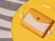 ☺懒人福音!(有皮Uplay有售 配色超美的三折短夹材料包