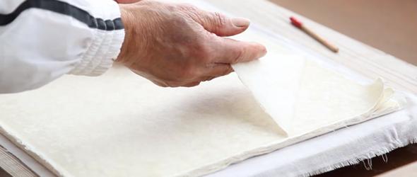手工和纸的慢与美 | 黑谷和纸全手工制作完整图文过程和视频