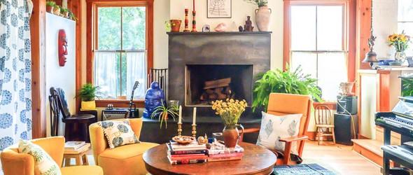 为喜欢的生活而活,美国夫妇亲手建造自己的Dream House