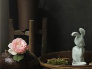 沉思 兔女郎 雕塑 【八九燕来】