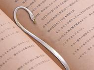 日本直邮 银制创意书签 925银 造型优美 送礼佳品 大渊银器出品 天鹅款