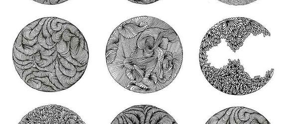 针管笔手绘出的密集黑白插图  | Gemma Rakels