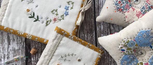 Pretty Fabrics And Trims:刺绣与拼布