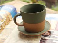 磨砂复古咖啡杯
