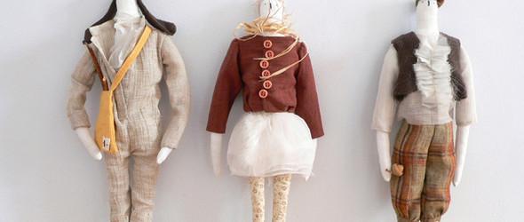 Akatsuka masami作品之一:将胡思乱想变成清新可爱的布艺玩偶