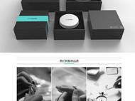 集兰 蕴染系列原创设计s925银饰品清纯气质款中国风耳环