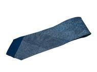 日本直邮 江户小纹染丝绸领带 纯手工制作 有28种花纹 传统工匠师青木啓作作品 深蓝色款