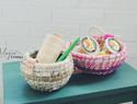 MAYIN FRIDAY 棉绳手工编织篮 储物罐