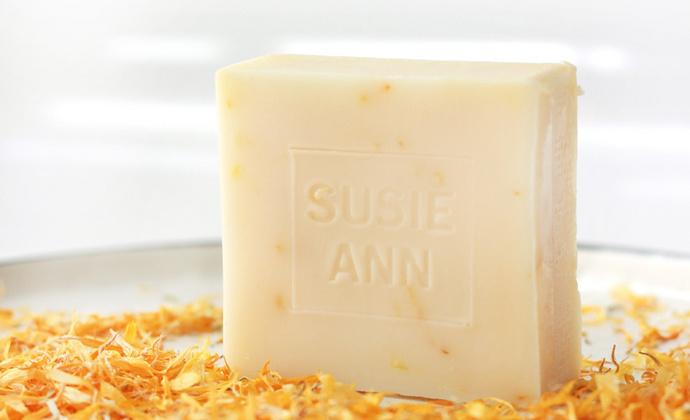 金盏花纯马油手工冷制皂 非皂基皂 温和清洁 洁面沐浴 祛痘去黑头
