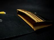 新店大促!原格®纯手工进口牛皮高端按扣长款钱包、手拿包、卡包