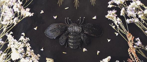 奢华雅致的珠绣配饰与包袋 | Swimaya Embroidery