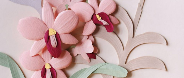 细腻立体的泰国风情纸雕艺术 | Wirin Chaowana