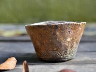 柴烧陶·鲸鱼杯