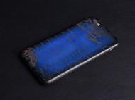 纯植鞣皮手机壳激光雕花手工擦色(无塑料壳做支撑)
