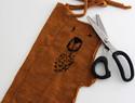 旧物改造:旧针织衫改造的刺绣泰迪熊玩偶(附送图纸下载)