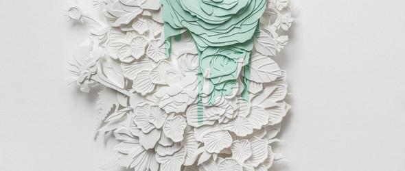 繁复到精致的纸雕艺术 | Joey Bates