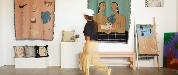 将艺术变成生活中的纺织品:洛杉矶独立设计师品牌 BFGF 与创始人Lilian Martinez