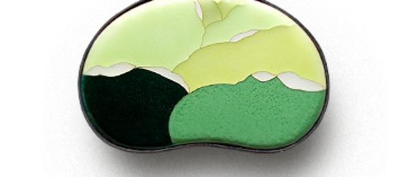日本七宝烧,源于景泰蓝的日本传统手工艺(加藤七宝製作所作品集)