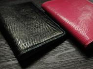 蜥蜴皮护照夹