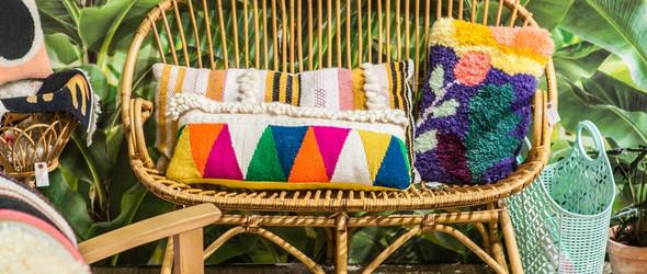 色彩绚丽的编织与戳戳绣 - chaumiere oiseau