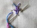 五种进阶版锁链绣教程【零基础】【转译】
