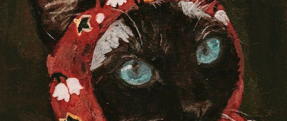 戴头巾的猫星人