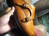 男士孟克patina改色处理技法,布莱克缝线法。码数:43.给合适的人