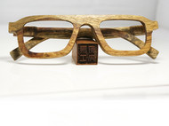 高端红木质纯手造 非洲黄花梨复合耐用全框眼镜 养生工艺礼品